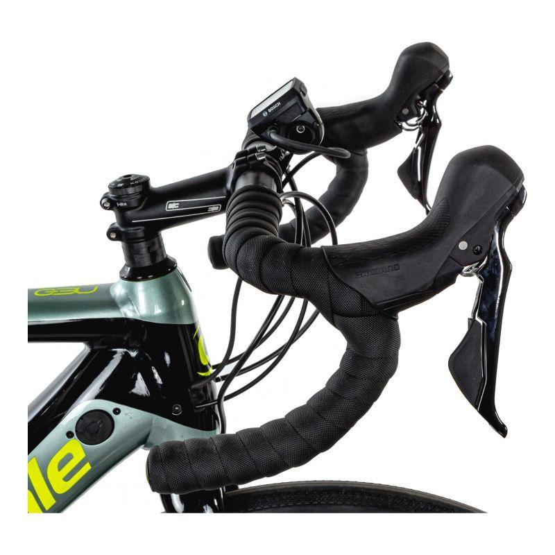 Vélo route électrique Cannondale Synapse NEO 2 Gris Sage/Jaune Volt - 2