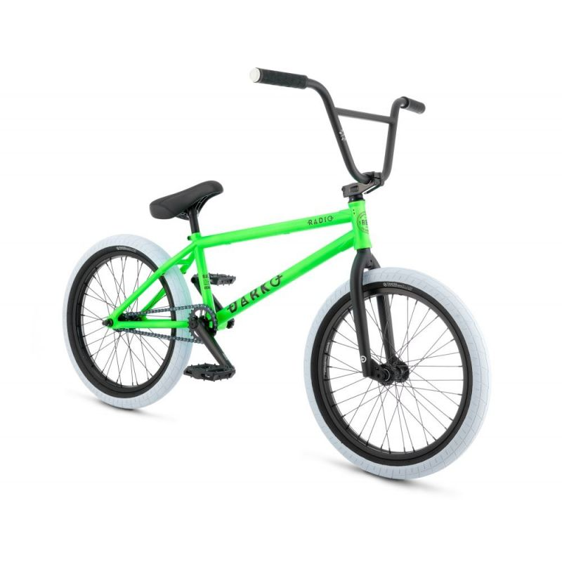 BMX Radio Bike Darko TT21 Vert Fluo 2017. Voir la description détaillée