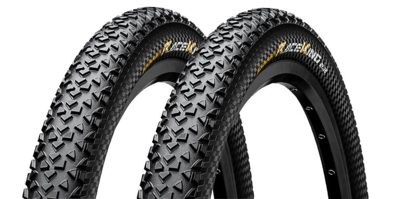 Set de 2 pneus Continental Race King 27.5 x 2.20 Performance TS Tubeless Ready