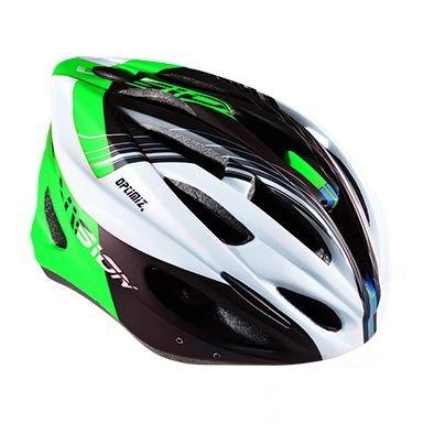 Casque Optimiz O-300 Vision Vert/Blanc/Noir Mat