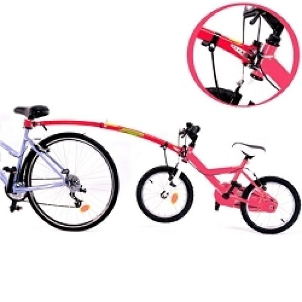 barre tandem trail gator rouge sur ultime bike. Black Bedroom Furniture Sets. Home Design Ideas