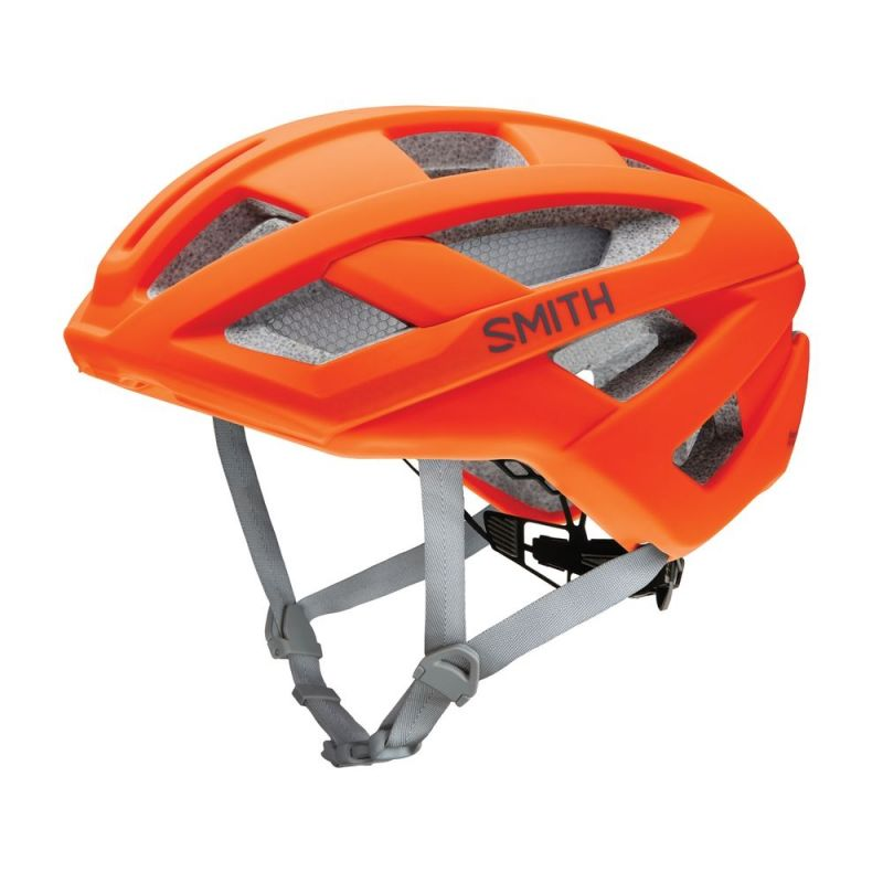 Casque Smith Route MIPS Mat Neon Orange