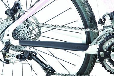 Protection caoutchouc autocollante BBB StaySkin 260x50 mm Noir - BBP-21