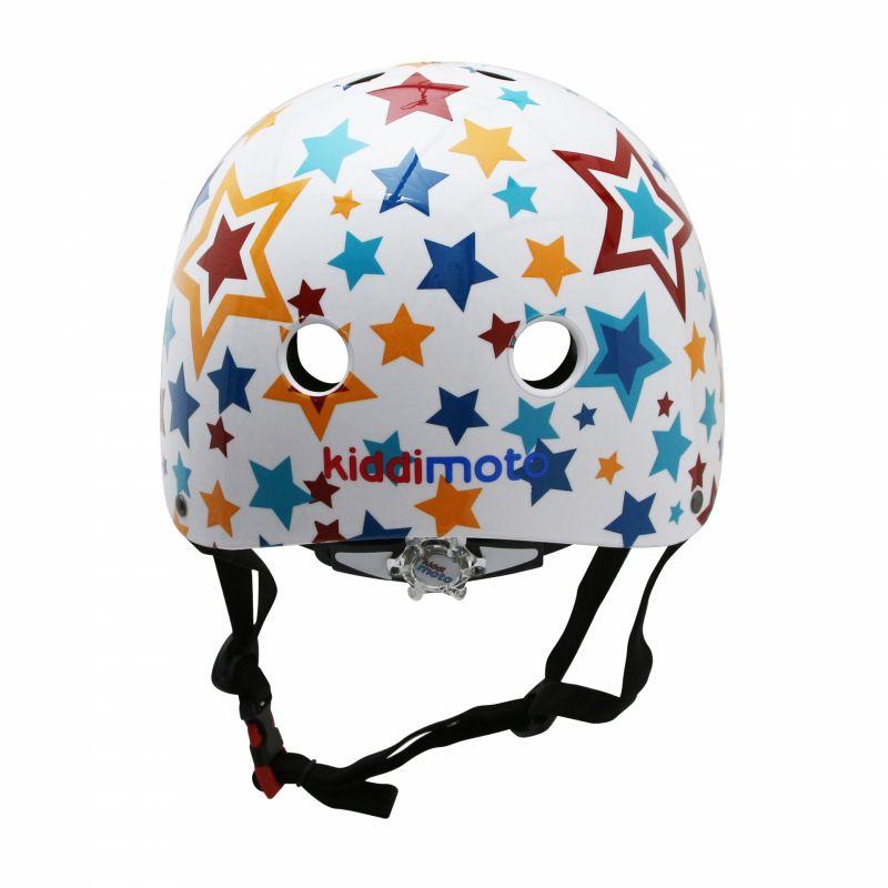 Casque vélo enfant Kiddimoto Étoile multicolore - 2