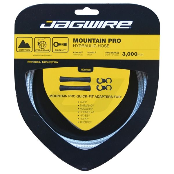 Kit durite hydraulique Jagwire Mountain Pro - Sterling Silver