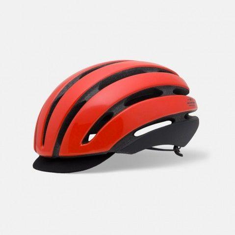 Casque Route Giro As Rouge brillant