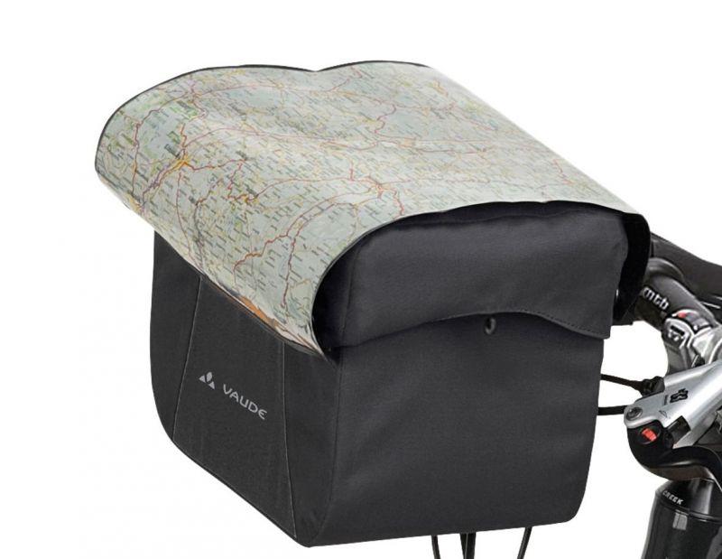 Sacoche de guidon Vaude Discover Box 6 L + support KLICKfix Noir