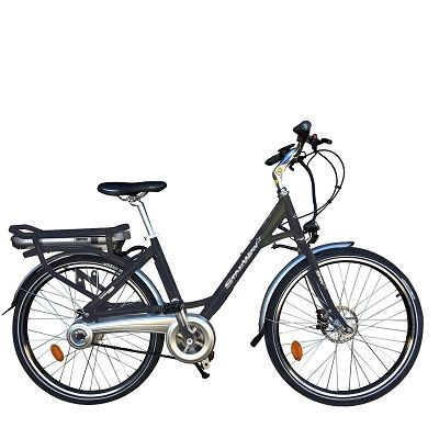 """Vélo électrique Starway Easy 26"""" Gris"""