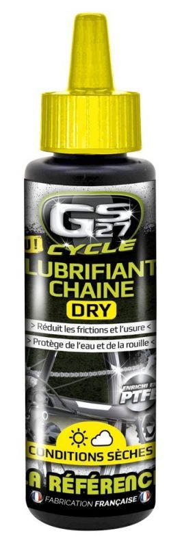 Lubrifiant chaîne GS27 Cycle Dry Flacon 125 ml