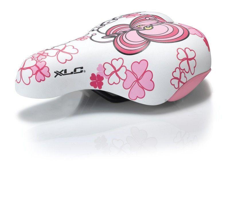 Selle enfant XLC SA-C02 Blanc/Rose