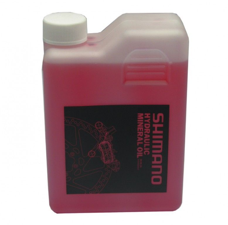 Huile minérale pour freins hydrauliques Shimano Bidon 1 L