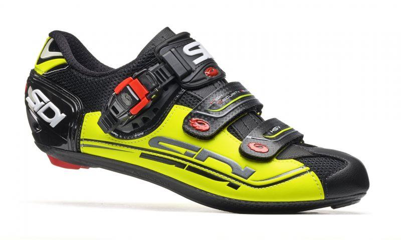Chaussures Sidi GENIUS 7 Noir/Jaune fluo