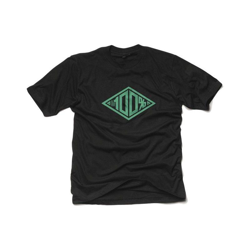 Tee shirt 100% Built Black (Noir)