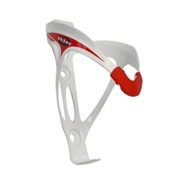 Porte-bidon Oktos type Elite Blanc/Rouge
