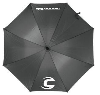 Parapluie Cannondale 130 cm Gris/Logos blancs