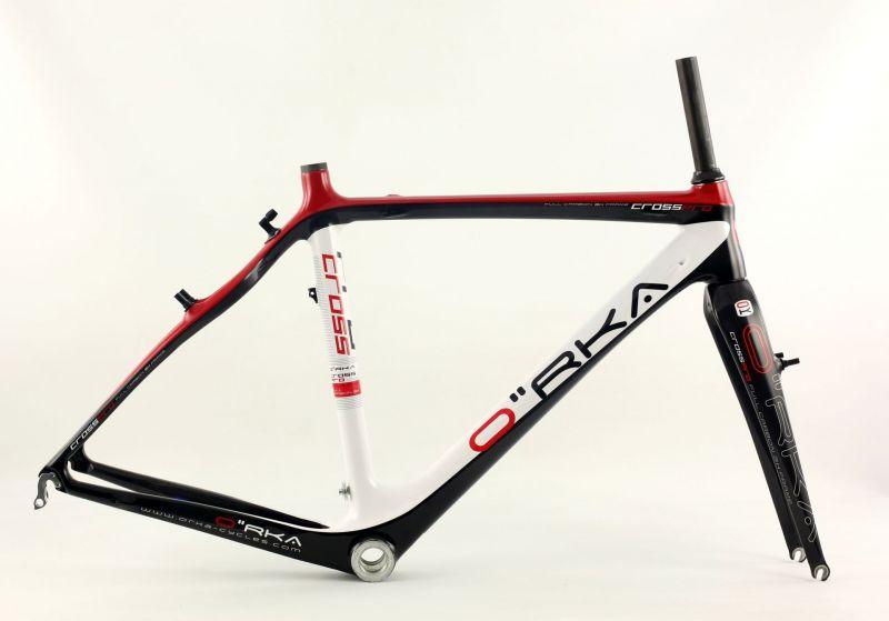 kit cadre cyclocross orka cross pro carbone 224 vendre sur ultime bike