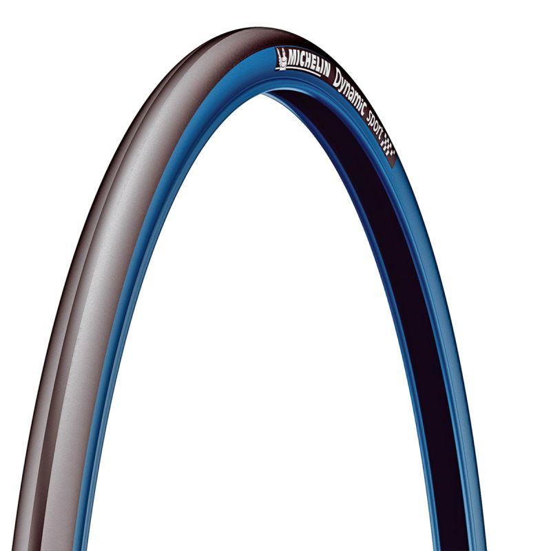 Pneu Michelin Dynamic Sport 700 x 23C TR Noir/Bleu