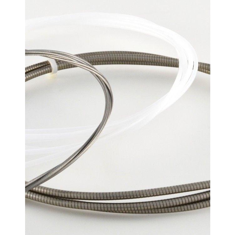 Kit câbles et gaines de vitesse inox Velo Orange style rétro Argent - 1