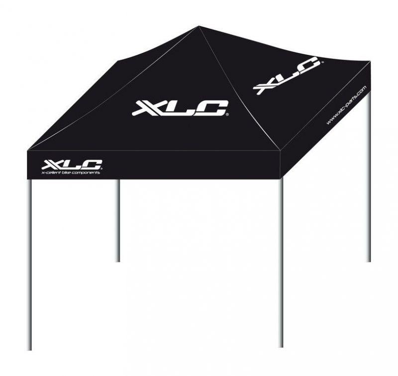 tente paddock xlc pliable 3x3 m noir sur ultime bike. Black Bedroom Furniture Sets. Home Design Ideas