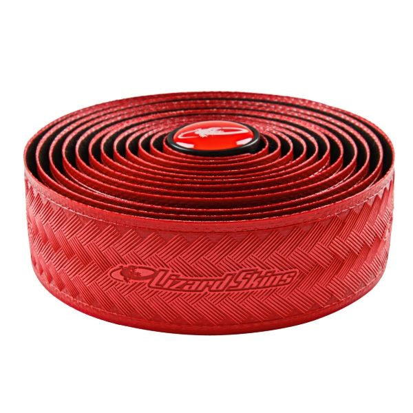 Ruban de cintre Lizard Skins DSP Bar Tape 3.2 Rouge