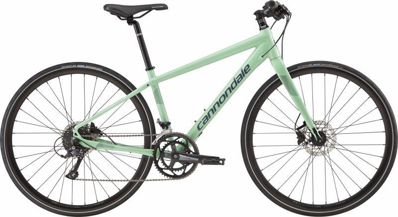 Vélo fitness femme Cannondale Quick Disc 3 WMN Vert Mint/Gris