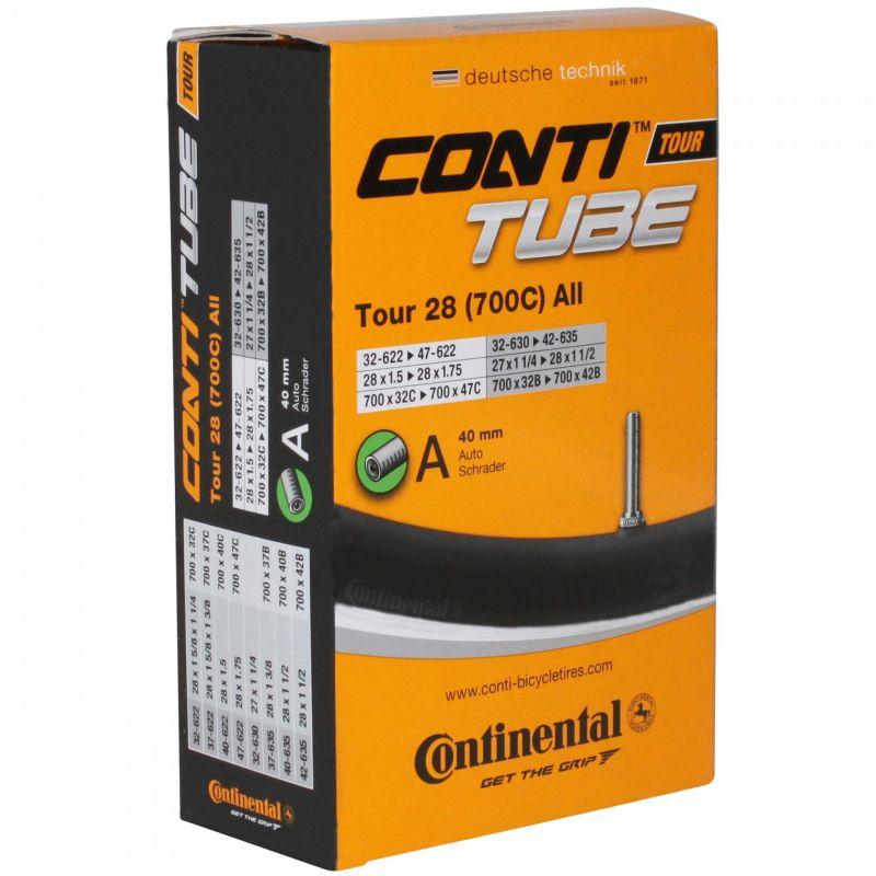 Chambre à air Continental Tour 700 x 32/47B/C Schrader 40 mm
