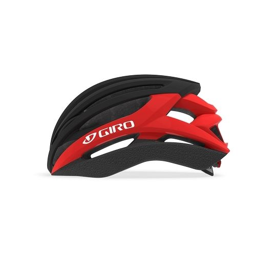 Casque Giro Syntax Noir Mat/Rouge Brillant - 1