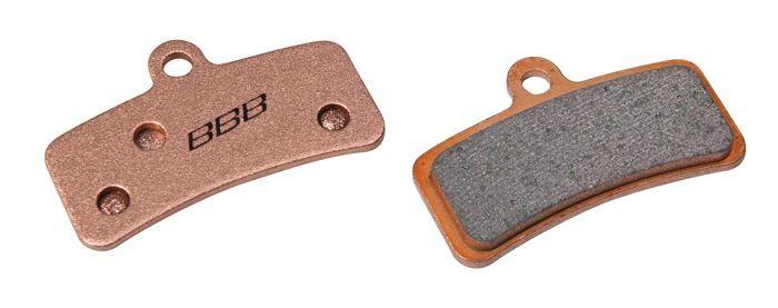 Plaquettes BBB comp. Shimano New Saint métalliques - BBS-55S