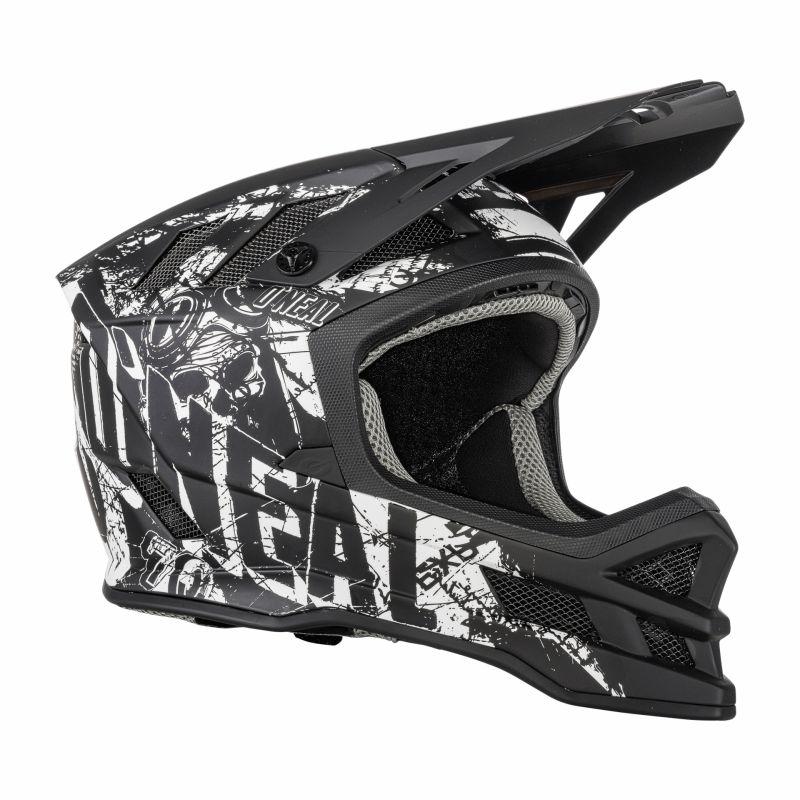 Casque VTT O'Neal Blade Helmet Rider Noir/Blanc