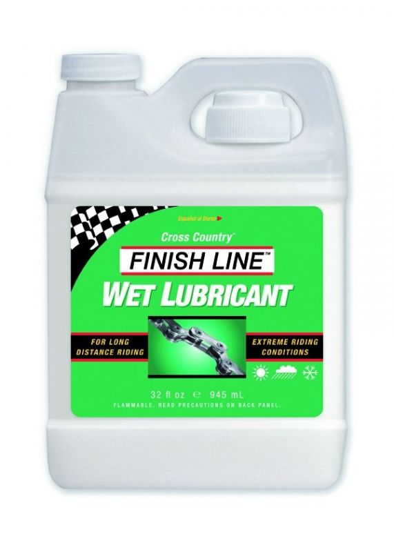 Lubrifiant Finish Line Wet Lube (Cross Country) - Bidon 1 L