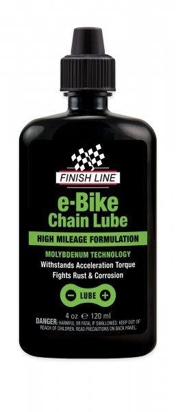 Lubrifiant chaîne Finish Line E-Bike 120ml