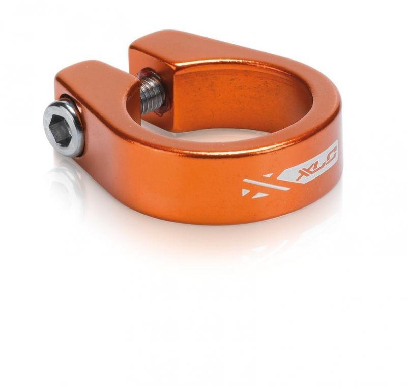 Collier de tige de selle XLC PC-B05 Alu 34,9 mm Orange