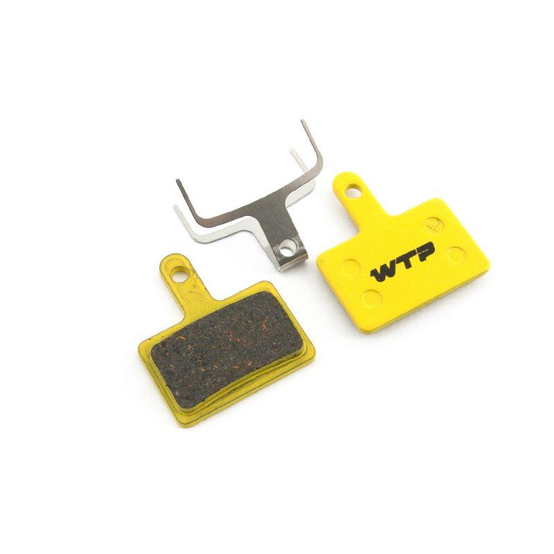 Plaquettes de frein vélo WTP compatibles Shimano Deore / RST / Tektro mechanical