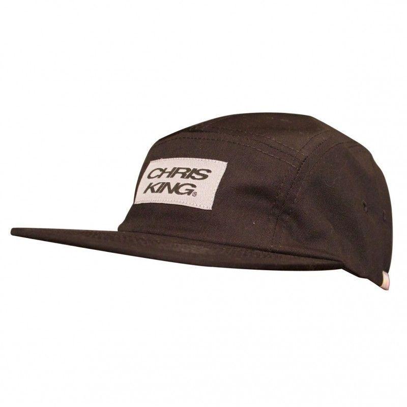 Casquette Chris King Camp Hat Noir