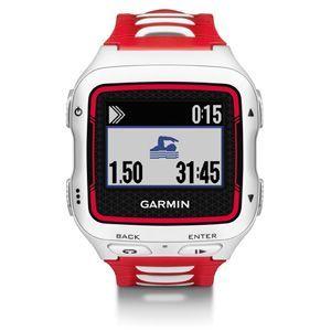 Montre GPS Garmin Forerunner 920XT blanche et rouge