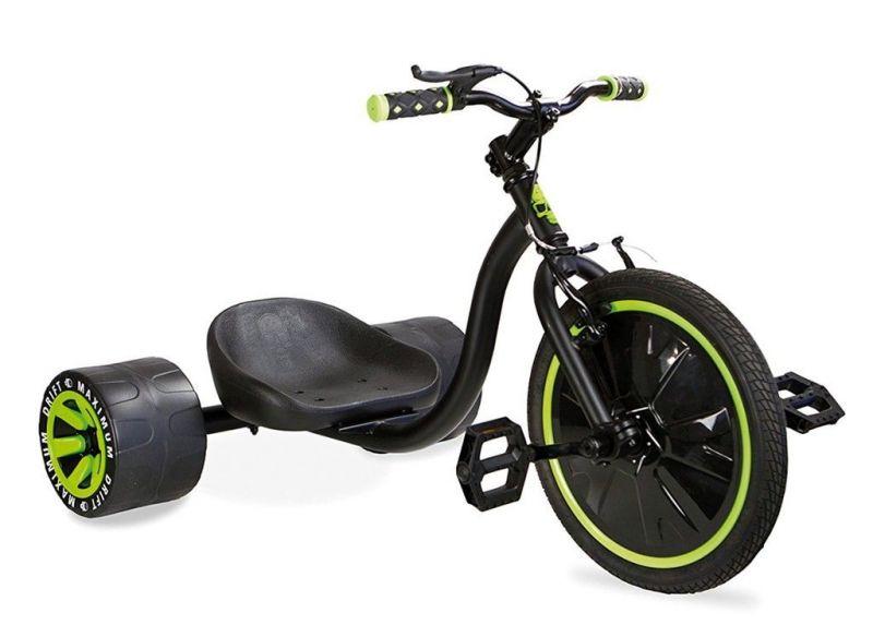 """Drift Trike Madd MGP 16"""" Vert/Noir"""