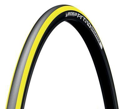 Pneu Michelin Pro 4 Endurance V2 700 x 23C TS Noir/Jaune
