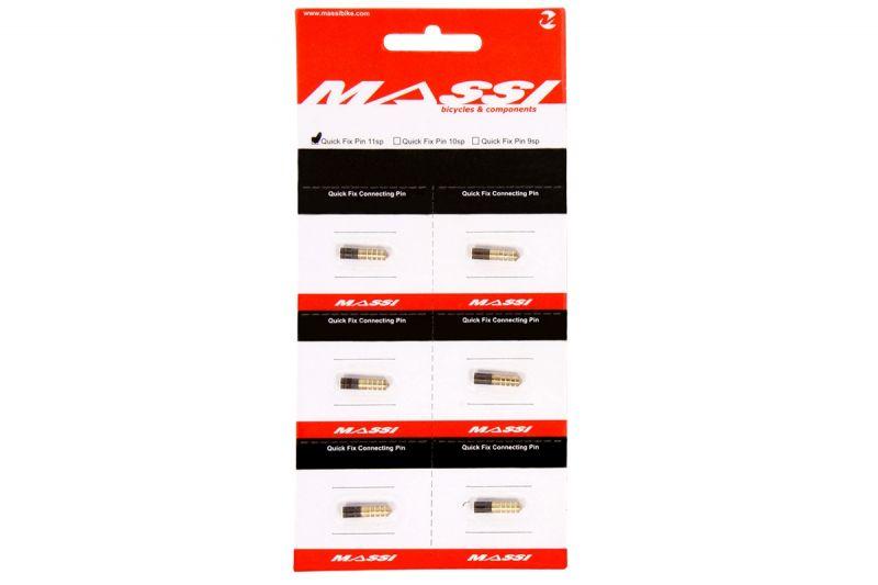 Axe de maillon Massi Quick Fix Chain Pin 10V (6 pièces)