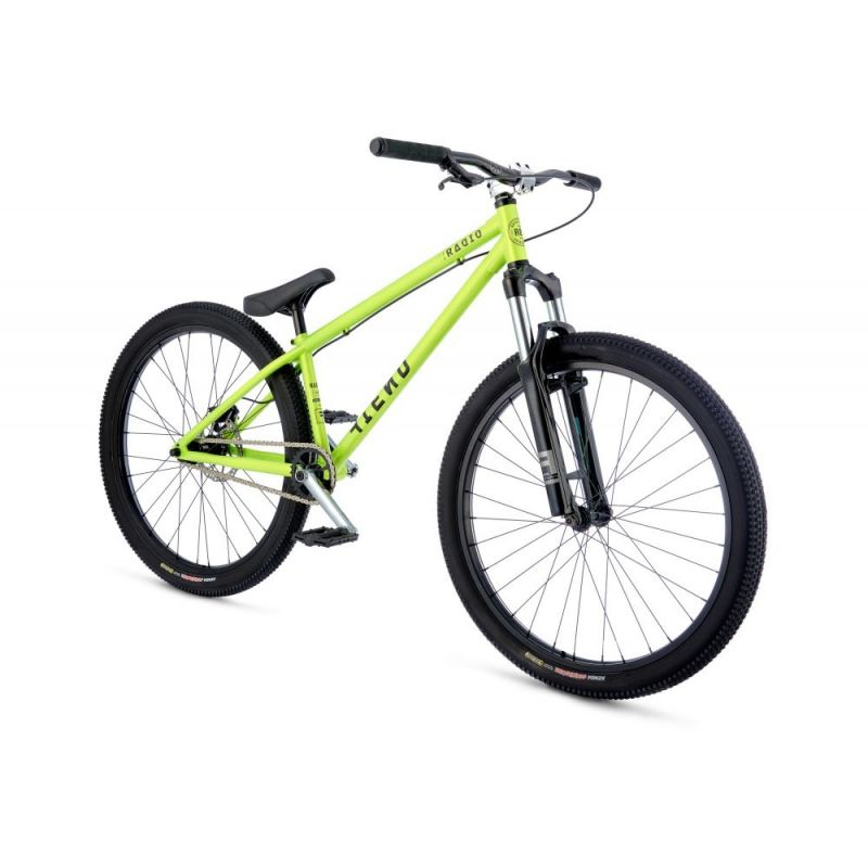 vtt dirt radio bike fiend 26 vert fluo 2017 pi ces v los complets sur ultime bike. Black Bedroom Furniture Sets. Home Design Ideas