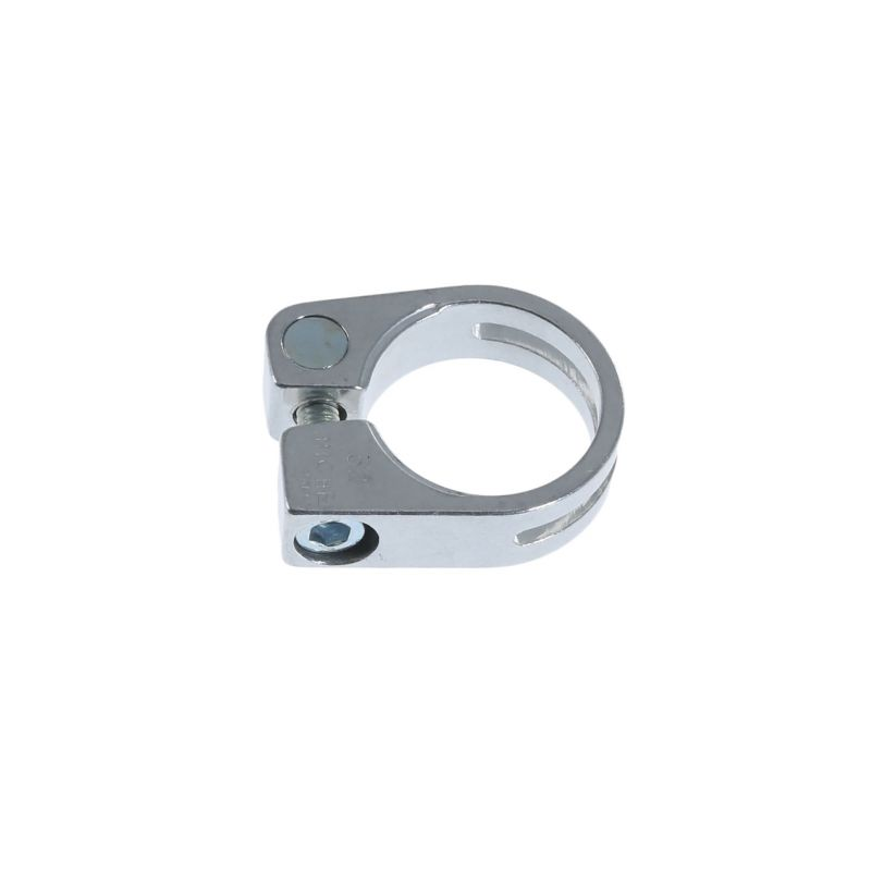 Collier de selle Miche Race Light Alu 31.8 mm à visser Argent