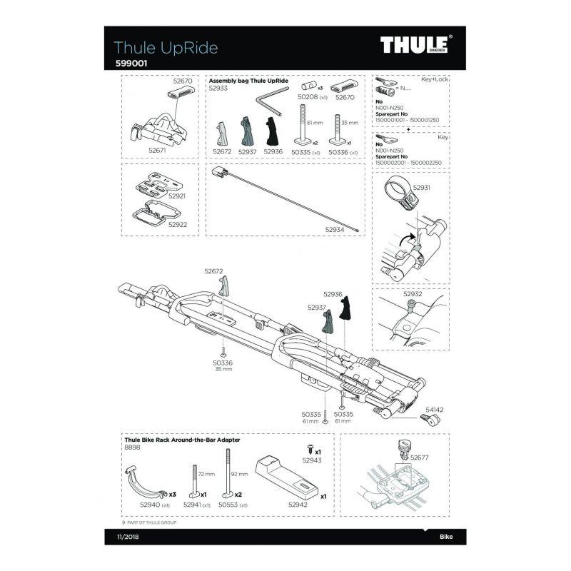 Vis Thule M6x35mm - 50336 - 8