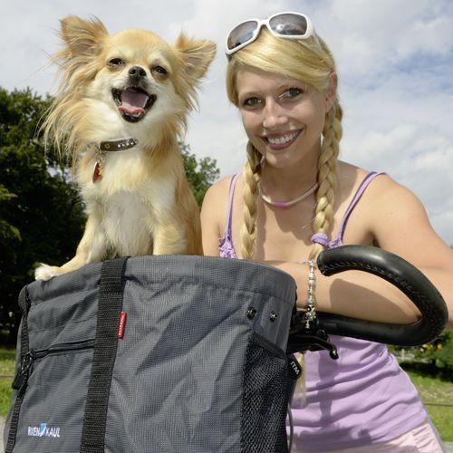 Sacoche de transport pour chien KLICKFix Doggy 24 L Gris - 4