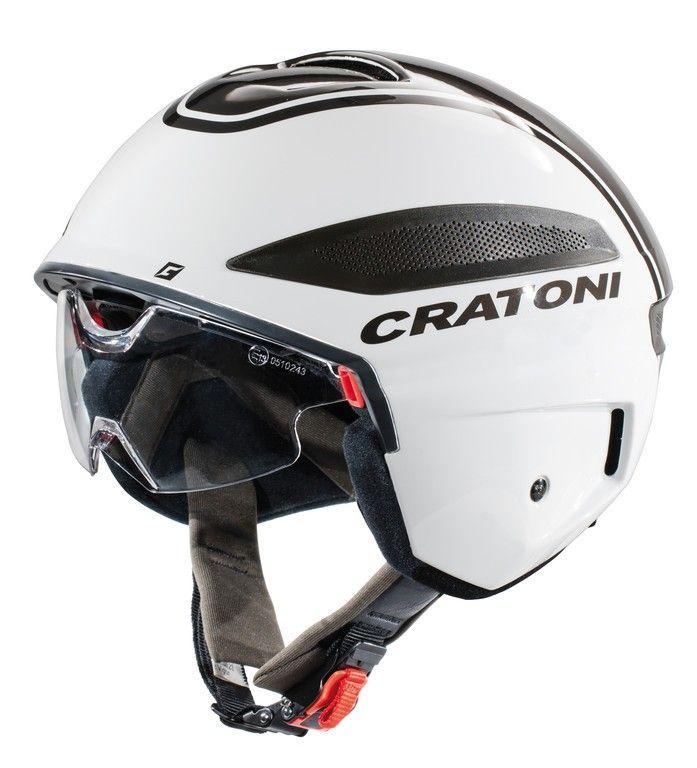 Casque Cratoni Vigor hom. VAE 45 km/h Blanc/Anthracite
