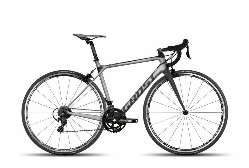 Vélo de route Ghost Nivolet 3 LC Argent/Titanium