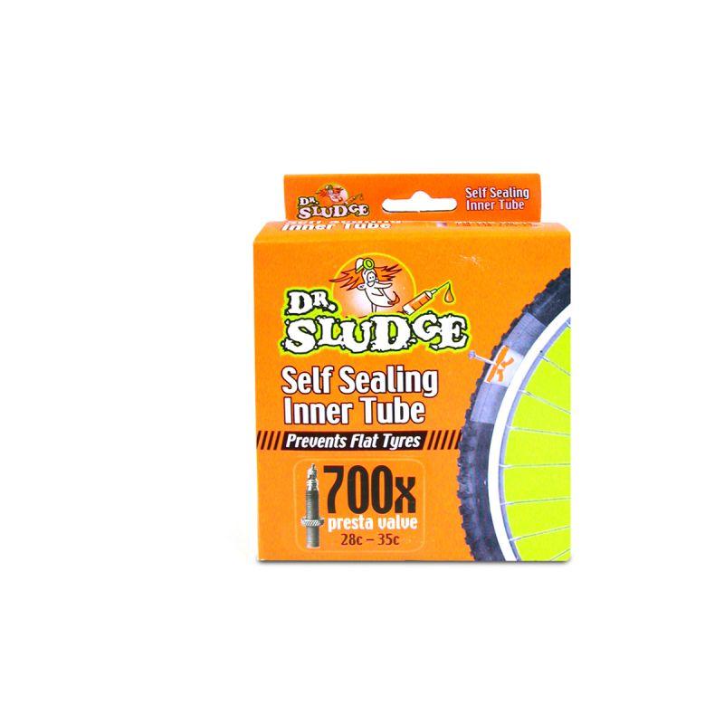 Chambre à air Dr Sludge 700 x 28/35C auto-réparante Presta