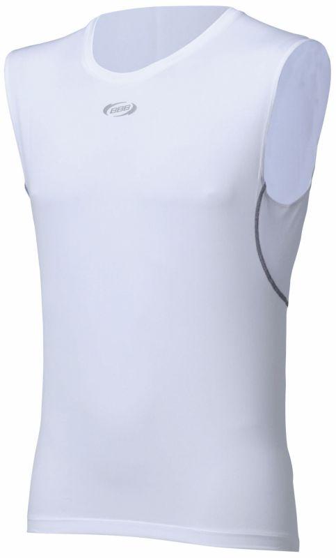 Sous-vêtement été BBB BaseLayer homme sans manches Blanc - BUW-02