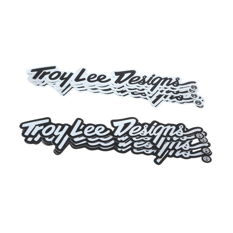 "Stickers Troy Lee Designs Signature Alu 10"" (10 pièces)"