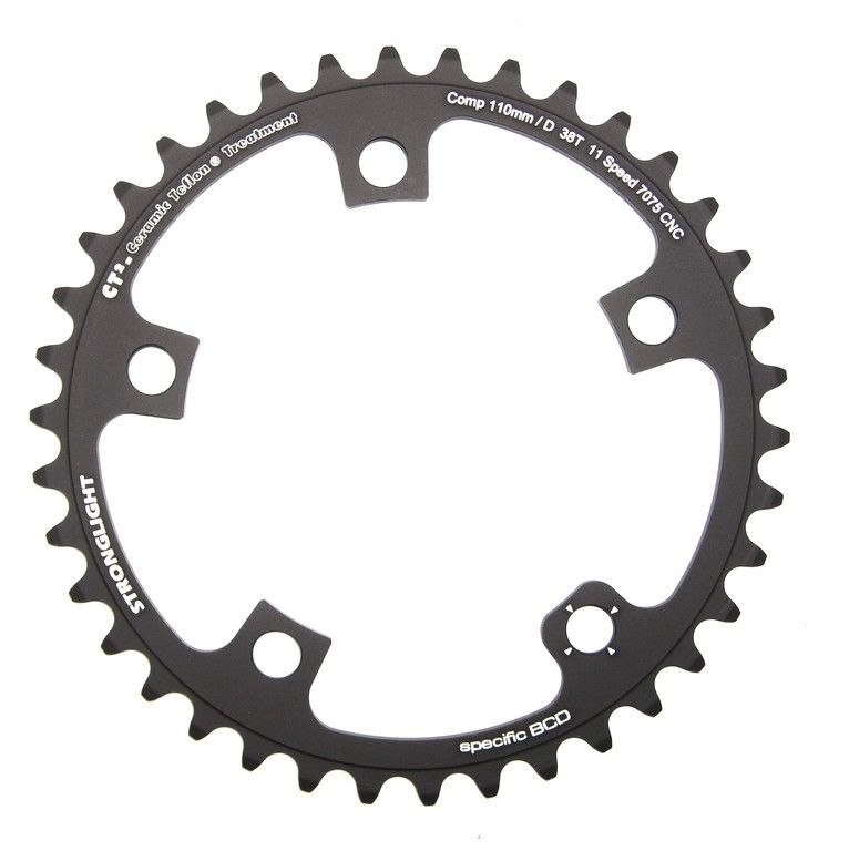 Plateau Stronglight E-Shifting 110D Campagnolo 38 dents