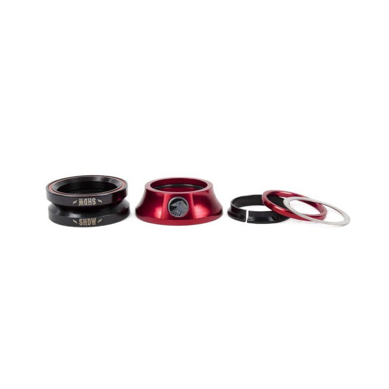 Jeu de direction BMX TSC Stacked Headset Rouge Crimson