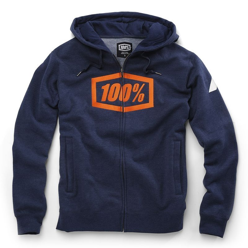 Veste zip 100% Syndicate bleu
